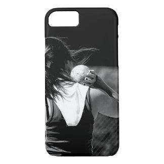 Girl Shotput thrower iPhone 7 Case