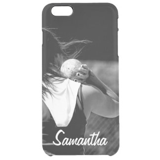 Girl Shotput thrower Uncommon Clearly™ Deflector iPhone 6 Plus Case