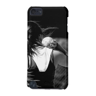 Girl Shotput thrower iPod Touch (5th Generation) Covers
