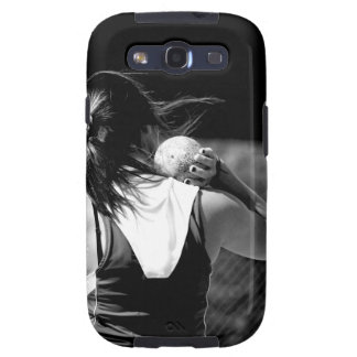 Girl Shotput thrower Samsung Galaxy S3 Covers