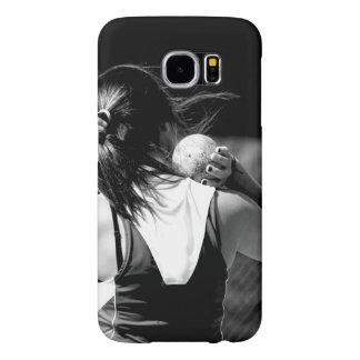 Girl Shotput thrower Samsung Galaxy S6 Cases