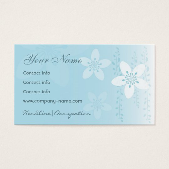 Girl Silhouette Series Business Card