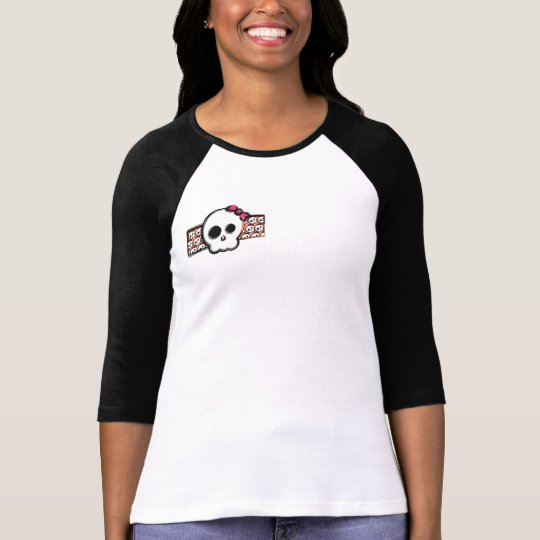 girl skull with bow T-Shirt