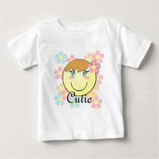 Girl Smiley Baby Shirt