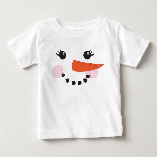 Girl snowman baby T-Shirt