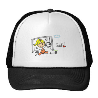 Girl Soccer Goalie Tshirts and Gifts Trucker Hat