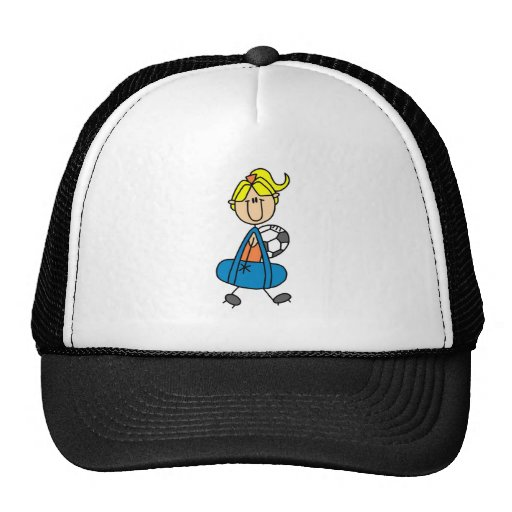 GIrl Soccer Practice T-shirts and Gifts Trucker Hat