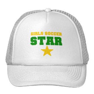 Girl Soccer Star Trucker Hats