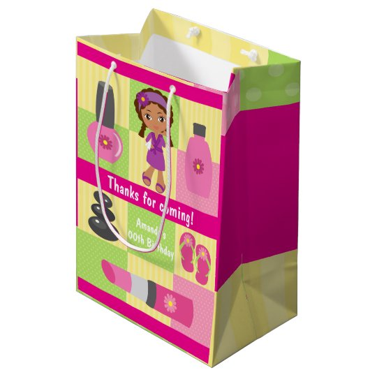Girl Spa Birthday Party Guest Favour Medium Gift