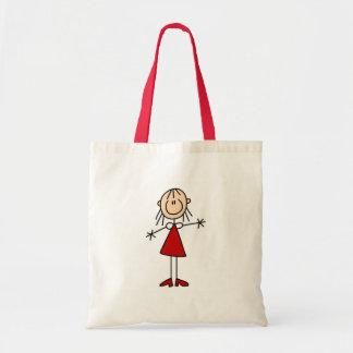 Girl Stick Figure Bag