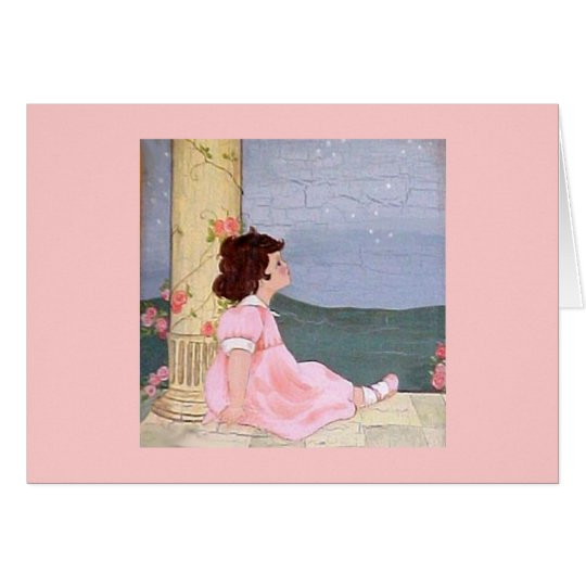 Girl - Sweet Dreams Card