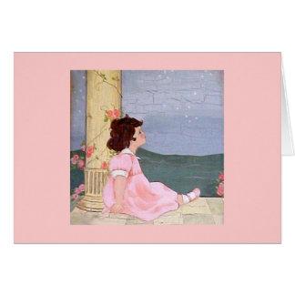 Girl - Sweet Dreams Greeting Card