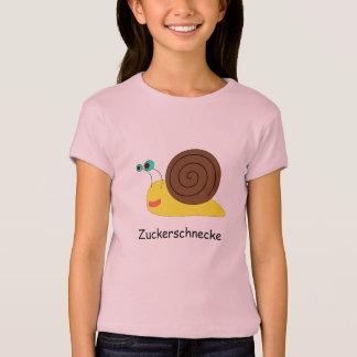 "Girl T-shirt ""sugar snail """