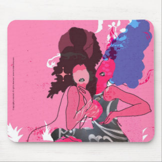 Girl Talk Mouse Pad