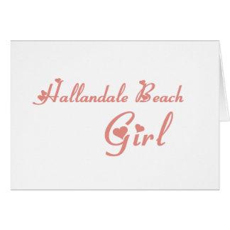 Girl tee shirts greeting card