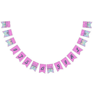 Girl Thing It's a Girl Baby Shower Bunting