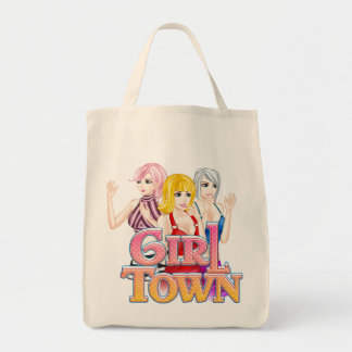 Girl Town Tote Bag