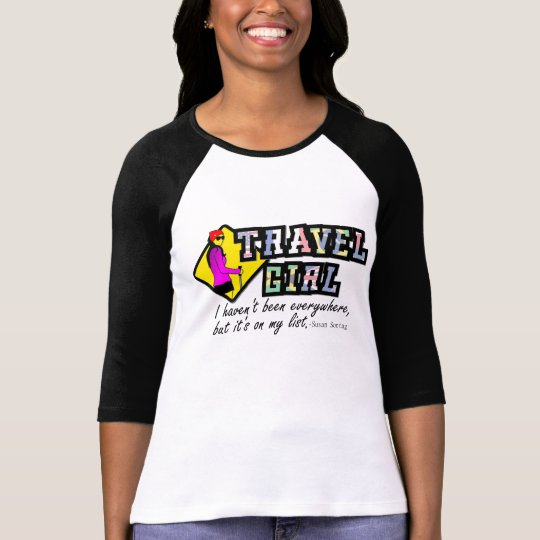 Girl travel T-Shirt