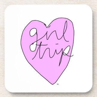Girl Trip Apparel Accessories Drink Coaster