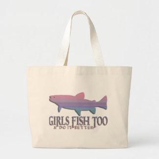 GIRL TROUT FISHING BAG