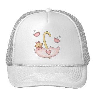Girl Umbrella Cap
