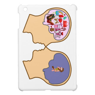 Girl V Guy funny design - Customisable iPad Mini Cover