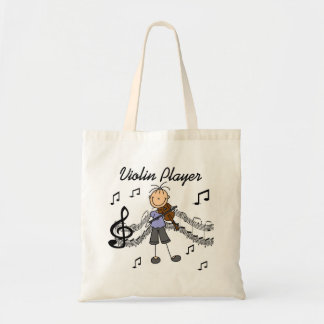 Girl Violin Player Tshirts and Gifts Tote Bag