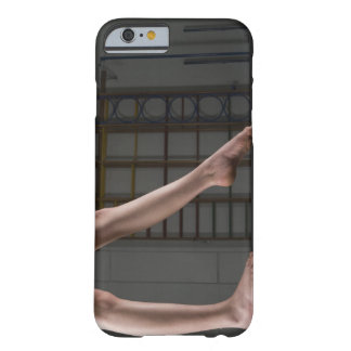 Girl walking on balance beam barely there iPhone 6 case