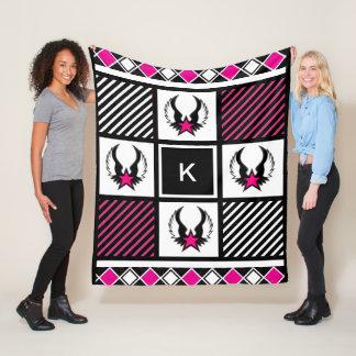 Girl Warrior Fleece Blanket