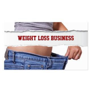 Girl Weight Loss business card