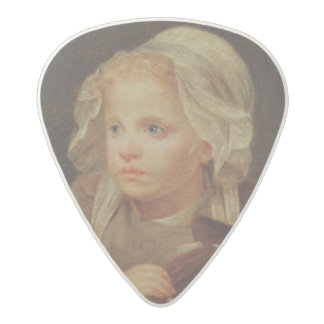 Girl with a Doll Acetal Guitar Pick