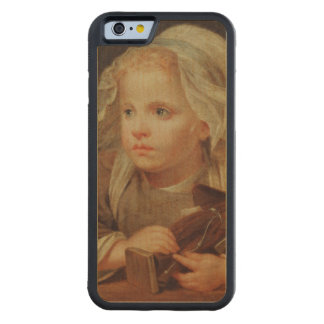 Girl with a Doll Maple iPhone 6 Bumper Case