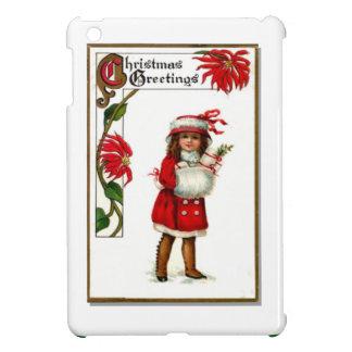 Girl with a muff iPad mini cover