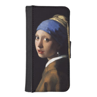 Girl With A Pearl Earring by Johannes Vermeer iPhone SE/5/5s Wallet Case