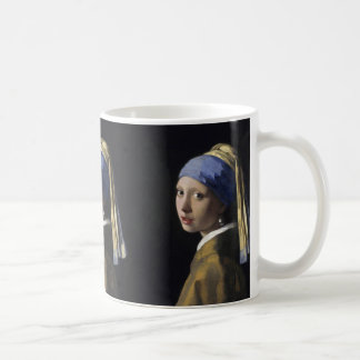 Girl with a Pearl Earring by Johannes Vermeer Mugs