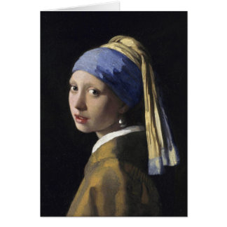 Girl with a Pearl Earring Card