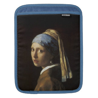 Girl with a Pearl Earring iPad Sleeve
