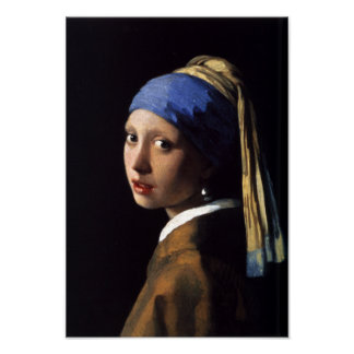Girl with a Pearl Earring Print