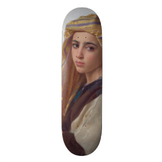 Girl With a Pomegranate by W.A. Bouguereau Skateboards