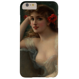 Girl with a Poppy Barely There iPhone 6 Plus Case