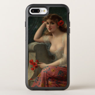 Girl with a Poppy by Emile Vernon OtterBox Symmetry iPhone 8 Plus/7 Plus Case