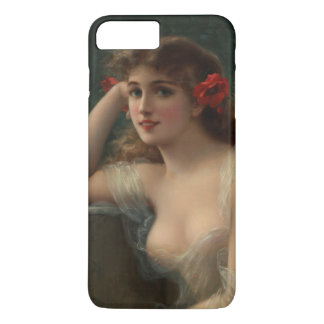 Girl with a Poppy iPhone 8 Plus/7 Plus Case
