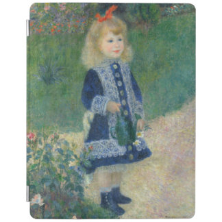 Girl with a Watering Can by Pierre-Auguste Renoir iPad Cover