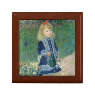 Girl with a Watering Can by Pierre-Auguste Renoir Jewelry Box