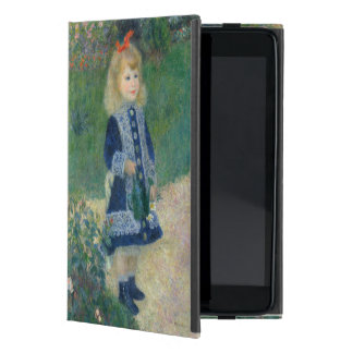 Girl with a Watering Can by Pierre-Auguste Renoir iPad Mini Cover