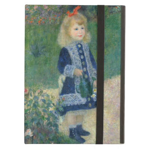 Girl with a Watering Can by Pierre-Auguste Renoir Cover For iPad Air