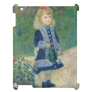 Girl with a Watering Can by Pierre-Auguste Renoir Case For The iPad