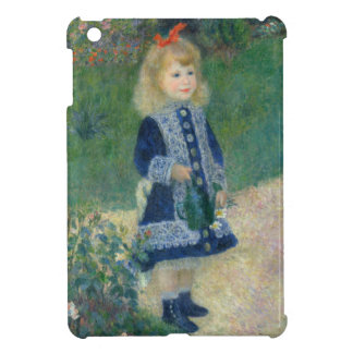 Girl with a Watering Can by Pierre-Auguste Renoir iPad Mini Cases
