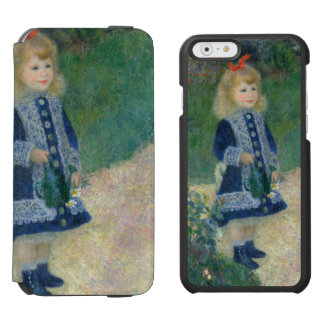 Girl with a Watering Can by Pierre-Auguste Renoir Incipio Watson™ iPhone 6 Wallet Case