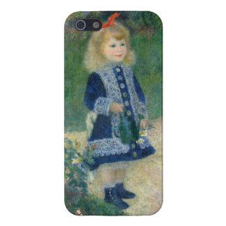 Girl with a Watering Can by Pierre-Auguste Renoir Case For iPhone 5